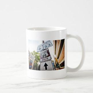 ルート66の母道 コーヒーマグカップ