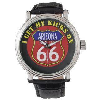 ルート66の腕時計アリゾナ 腕時計