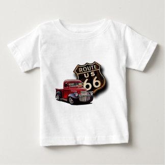 ルート66の通り棒 ベビーTシャツ