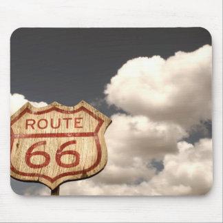 ルート66の青空 マウスパッド