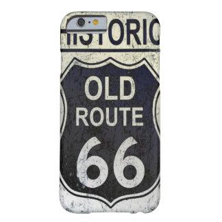 ルート66のIphoneの歴史的なやっとそこに場合 iPhone 6 ベアリーゼアケース