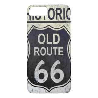 ルート66のIphoneの歴史的なやっとそこに場合 iPhone 7ケース