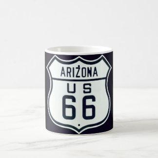 ルート66アリゾナ コーヒーマグカップ