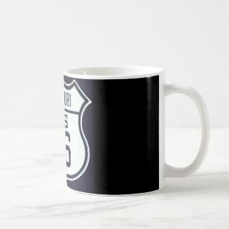 ルート66ミズーリ コーヒーマグカップ