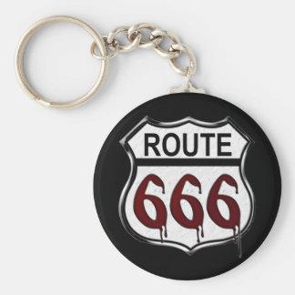 ルート666 キーホルダー