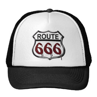 ルート666 トラッカー帽子