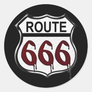 ルート666 ラウンドシール