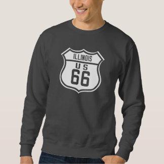 ルート66 -イリノイ スウェットシャツ