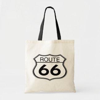ルート66 -予算のトート トートバッグ
