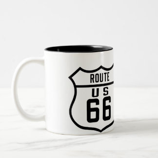 ルート66 -概要 ツートーンマグカップ