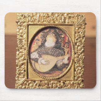 ルート(ミニチュアinclを演奏しているエリザベス女王一世 マウスパッド