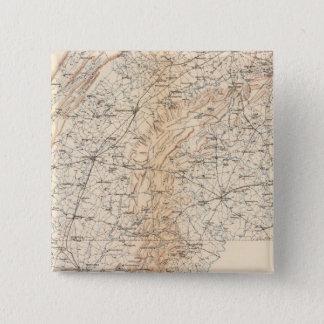 ルート、Gettysburgのキャンペーン 5.1cm 正方形バッジ