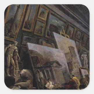 ルーバーのグランデGalerieの想像眺め スクエアシール