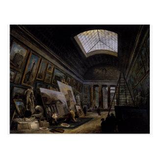 ルーバーのグランデGalerieの想像眺め ポストカード