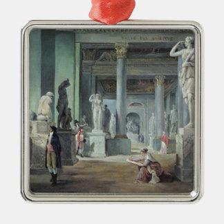 ルーバーのSalle des Saisons、c. 1802年 メタルオーナメント