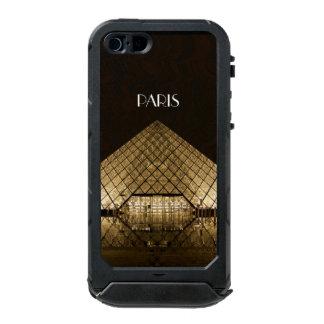 ルーバーピラミッドのiPhone SE/5/5S Incipioの地図書ID ウォータープルーフiPhone SE/5/5sケース
