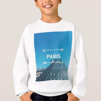 ルーバーピラミッドパリ スウェットシャツ