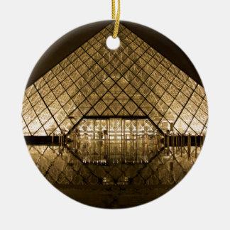 ルーバー、パリまたはフランス セラミックオーナメント