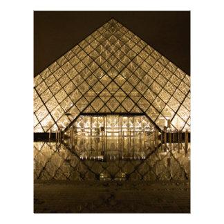 ルーバー、パリまたはフランス レターヘッド