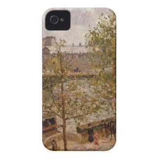 ルーバー、朝、日曜日、Camill著Quai Malaquais Case-Mate iPhone 4 ケース