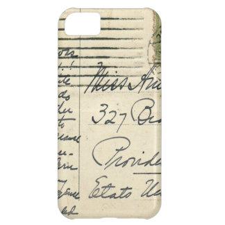 ルーマニアから米国に郵送されるヴィンテージの郵便はがき iPhone5Cケース