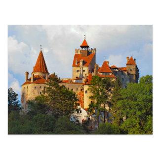 ルーマニアのドラキュラの城、ぬか、Transylvannia、 ポストカード