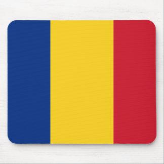 ルーマニアのマウスパッドの旗 マウスパッド