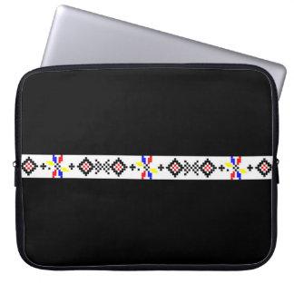 ルーマニアの人気があるなモチーフの民俗記号の国田園r ノート型パソコンスリーブケース