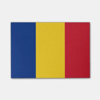 ルーマニアの後it®ノートの旗 ポストイット