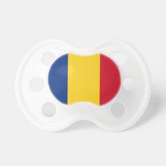 ルーマニアの旗が付いている調停者 おしゃぶり