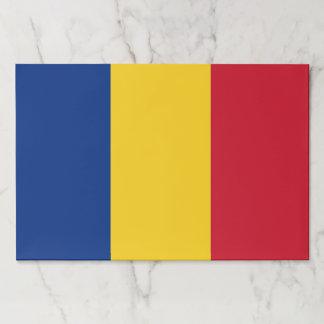 ルーマニアの旗が付いているTearawayのペーパーパッド ペーパーパッド