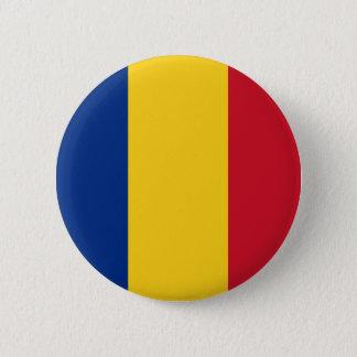 ルーマニアの旗ボタン 缶バッジ