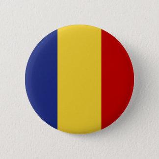 ルーマニアの旗 缶バッジ