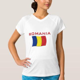 ルーマニアの旗(赤い) Tシャツ