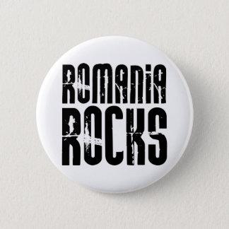ルーマニアの石 缶バッジ