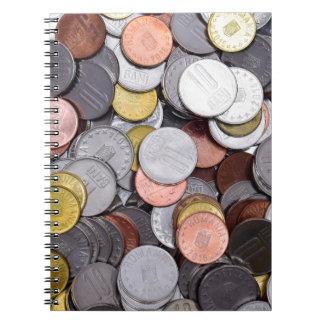ルーマニアの硬貨 ノートブック