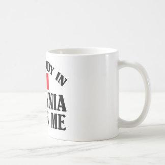 ルーマニアの誰か コーヒーマグカップ
