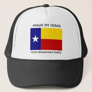 ルーマニアの部品とのテキサス州で作られる キャップ