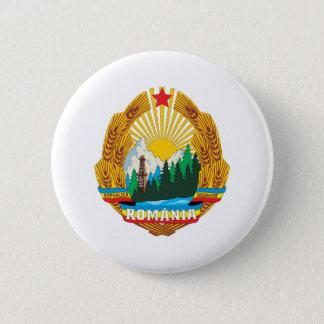 ルーマニア1965の紋章付き外衣 缶バッジ