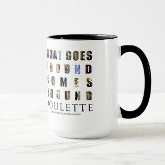 ルーレットのマグ マグカップ
