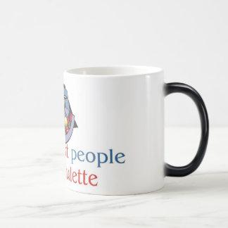 ルーレットの変形させるマグ モーフィングマグカップ
