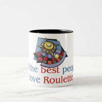 ルーレットの恋人2の調子のマグ ツートーンマグカップ