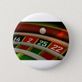 ルーレットのRuletのカジノのゲーム 缶バッジ