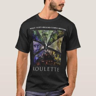 ルーレットポスターワイシャツ Tシャツ