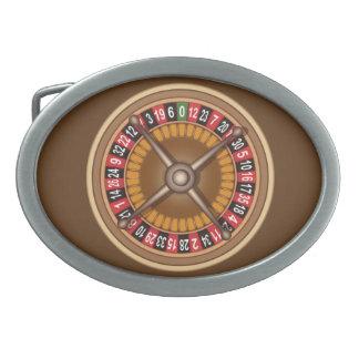 ルーレット盤のベルトの留め金 卵形バックル