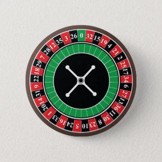 ルーレット盤ボタンのバッジ 缶バッジ