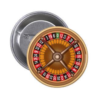 ルーレット盤ボタン 5.7CM 丸型バッジ