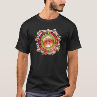 ルーレット盤 Tシャツ