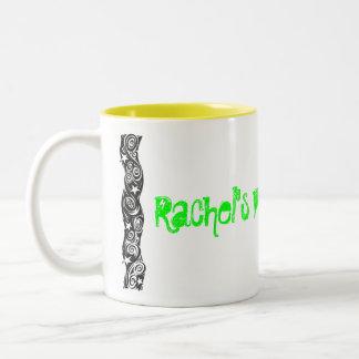 レイチェルの売春あっせん業者ジュース ツートーンマグカップ