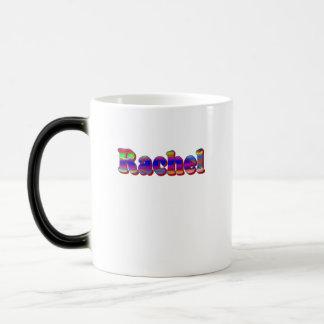 レイチェルの青く白い茶マグ モーフィングマグカップ
